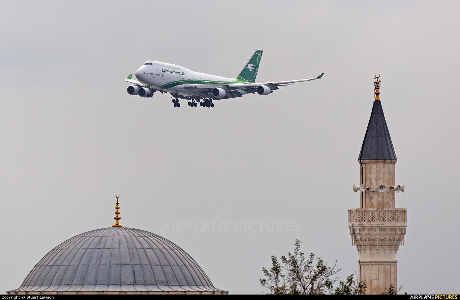 Iraqi Airways YI-ASA aircraft at Istanbul - Ataturk