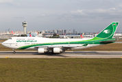 YI-ASA - Iraqi Airways Boeing 747-400 aircraft