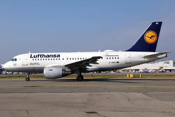 D-AIBG - Lufthansa Airbus A319