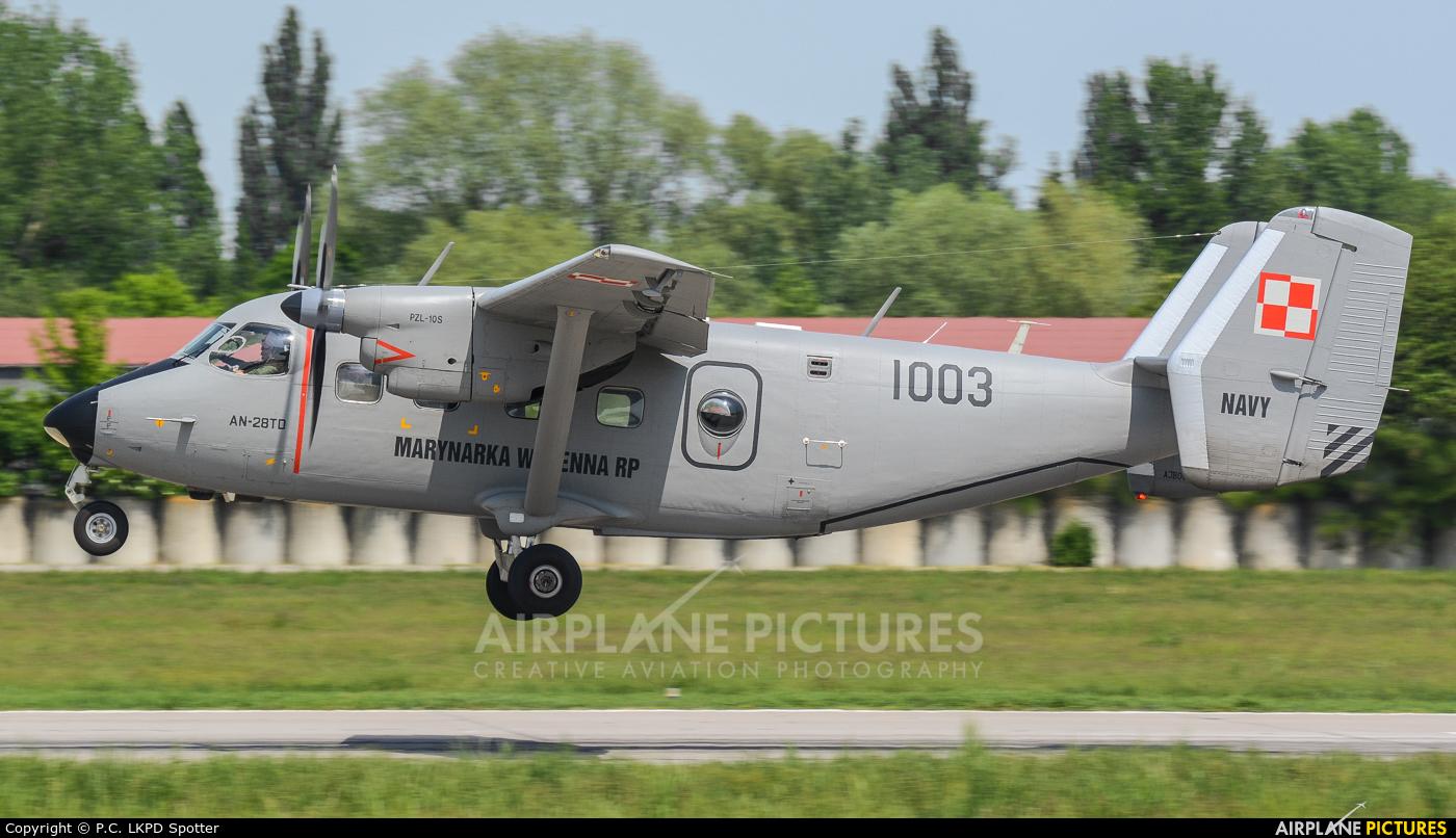 Poland - Air Force 1003 aircraft at Pardubice
