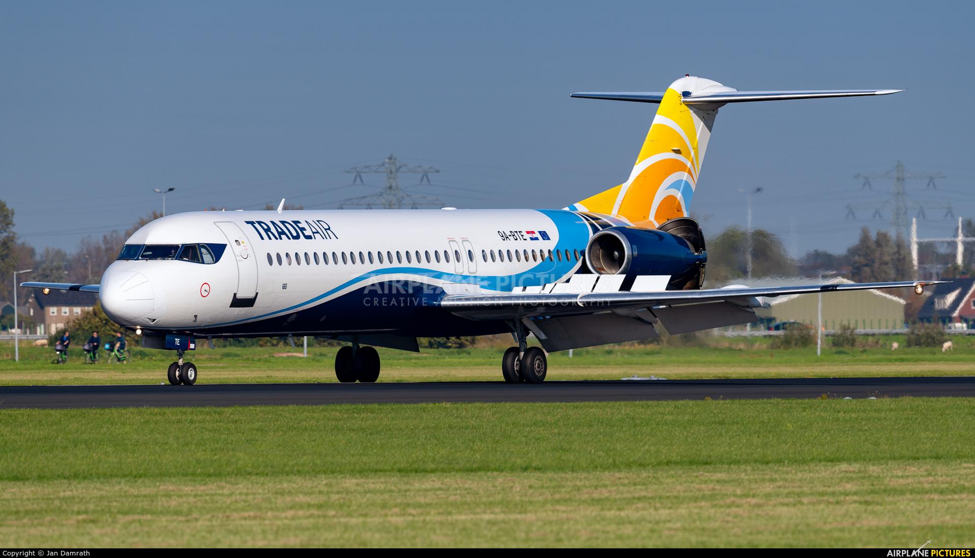 Trade Air 9A-BTE aircraft at Amsterdam - Schiphol