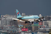 HL7402 - Korean Air Boeing 747-400 aircraft