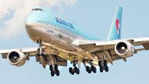 HL7637 - Korean Air Boeing 747-8 aircraft