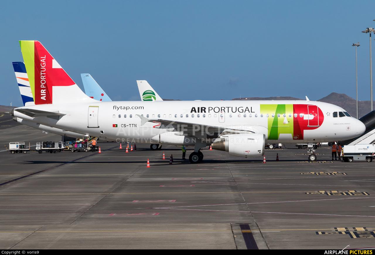 TAP Portugal CS-TTN aircraft at Madeira
