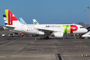 Modified logo title on TAP Portugal A319 title=