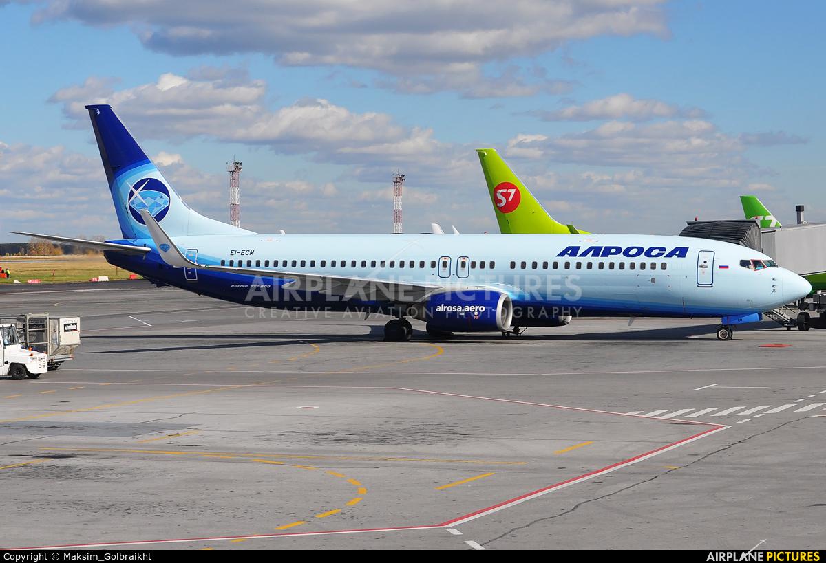 Alrosa EI-ECM aircraft at Novosibirsk