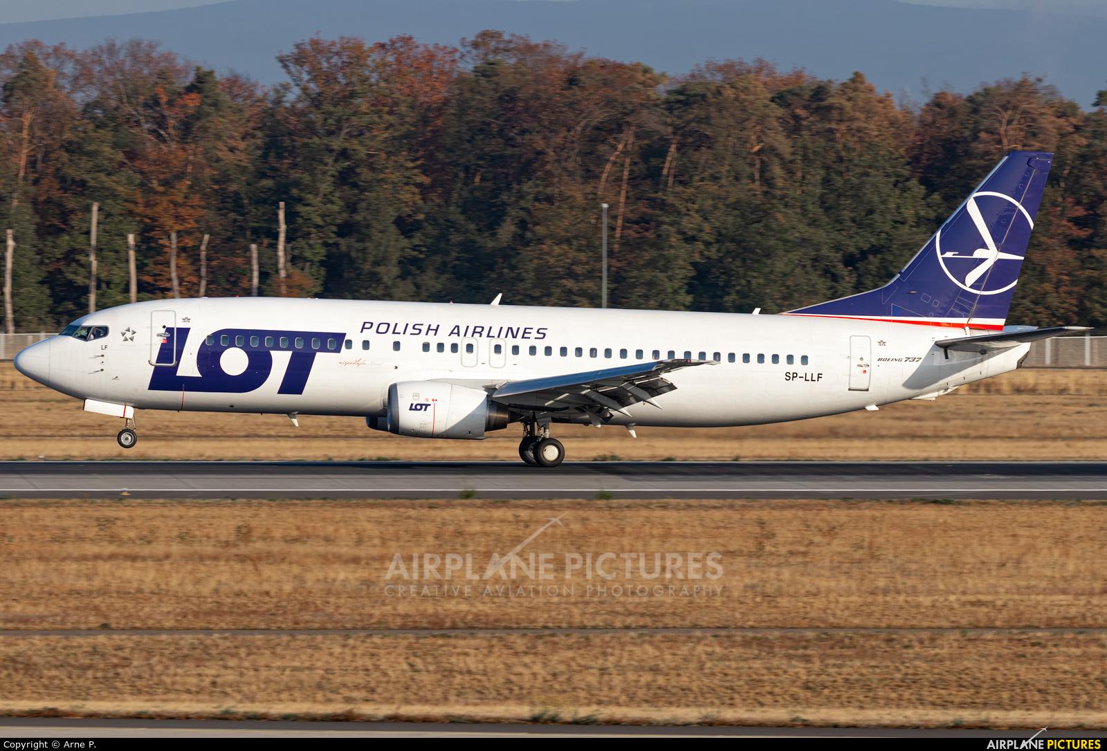 LOT - Polish Airlines SP-LLF aircraft at Frankfurt