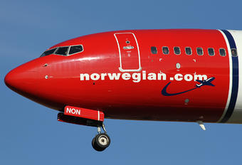 LN-NON - Norwegian Air Shuttle Boeing 737-800