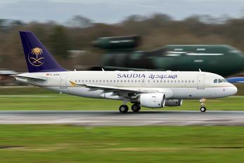 D-ASPA - Saudi Arabian Airlines Airbus A319 CJ