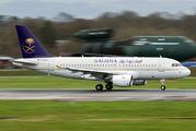 D-ASPA - Saudi Arabian Airlines Airbus A319 CJ aircraft