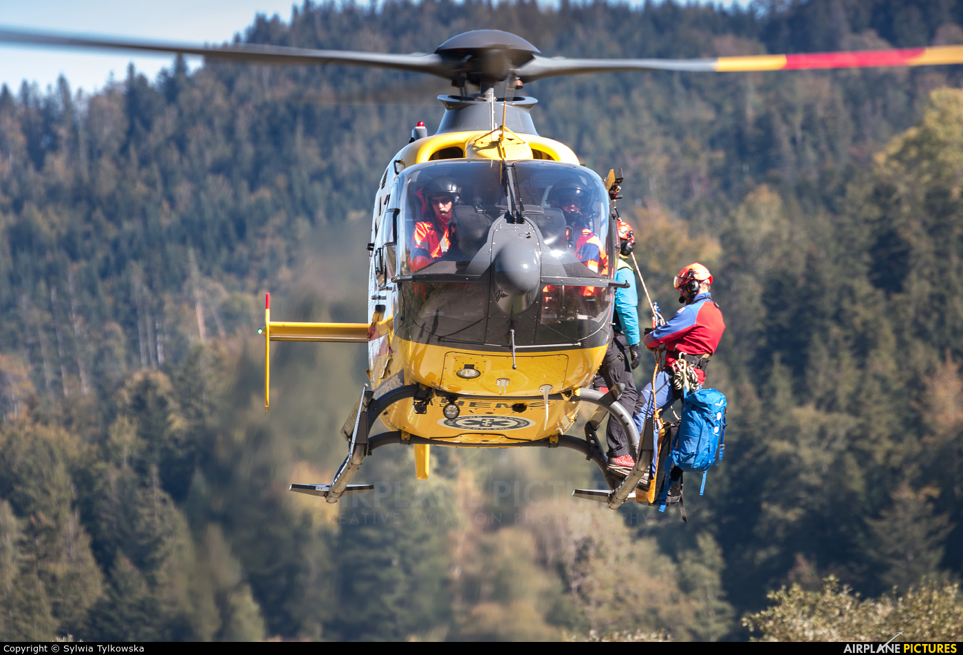 Polish Medical Air Rescue - Lotnicze Pogotowie Ratunkowe SP-HXX aircraft at Off Airport - Poland