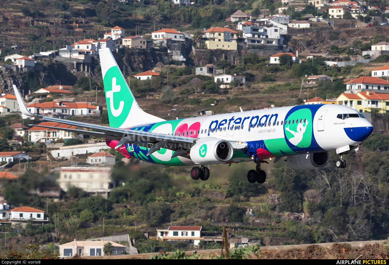 Transavia PH-HSI aircraft at Madeira