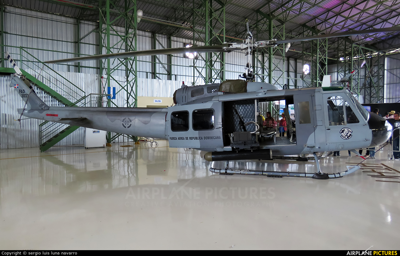 Dominican Air Force FAD-3033 aircraft at Off Airport - Dominican Republic