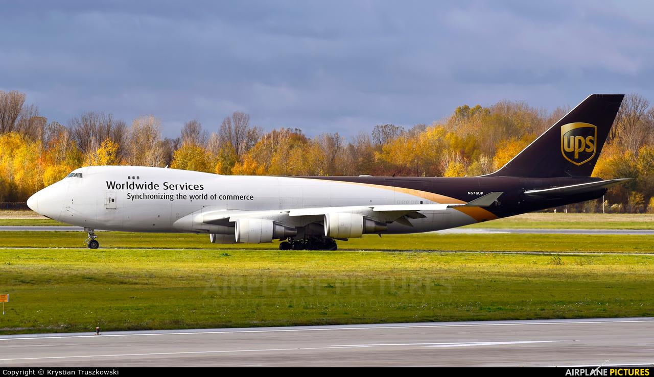 UPS - United Parcel Service N576UP aircraft at Warsaw - Frederic Chopin