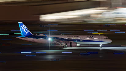 JA136A - ANA - All Nippon Airways Airbus A321 NEO