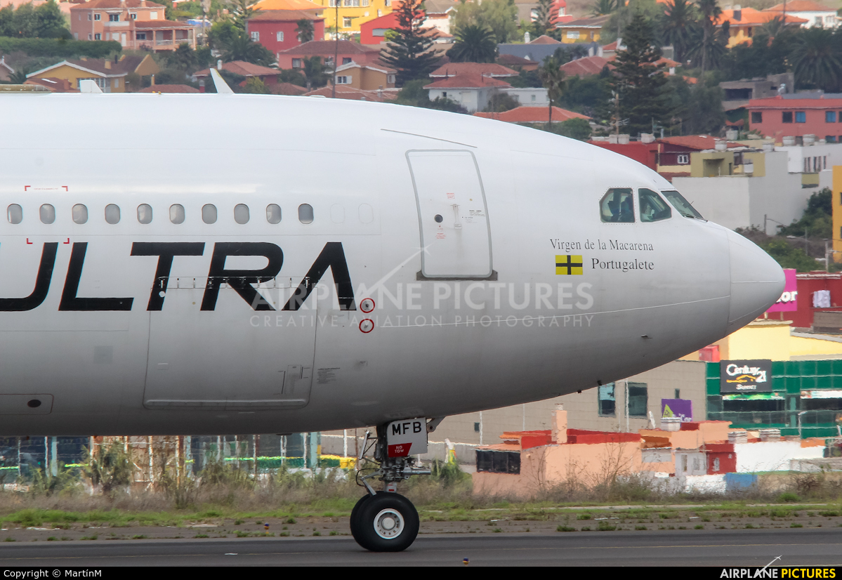 Plus Ultra EC-MFB aircraft at Tenerife Norte - Los Rodeos