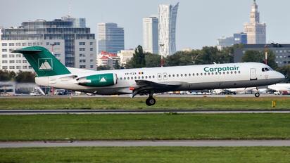 YR-FZA - Carpatair Fokker 100