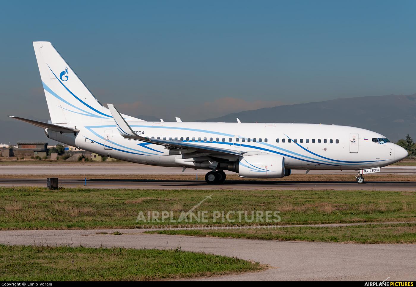 Gazpromavia RA-73004 aircraft at Verona - Villafranca
