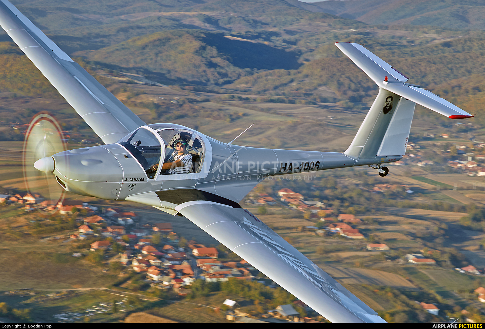 Private HA-1006 aircraft at Ineu - Oradea