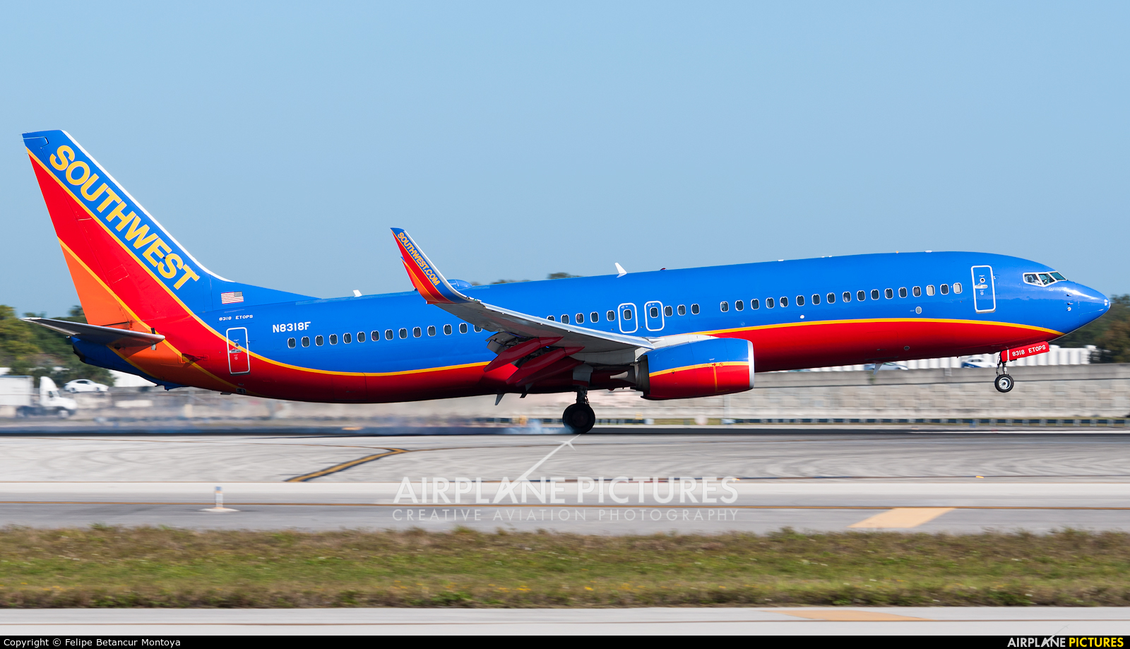 Southwest Airlines N8318F aircraft at Fort Lauderdale - Hollywood Intl
