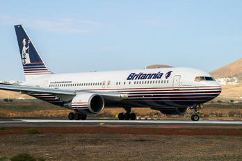 G-BYAA - Britannia Airways Boeing 767-200