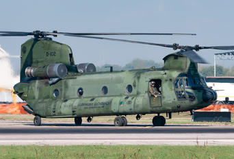 D-102 - Netherlands - Air Force Boeing CH-47D Chinook