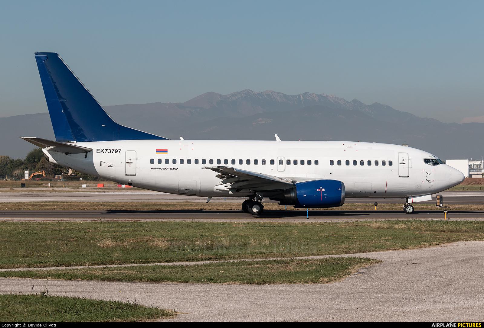 Atlantis European Airways EK73797 aircraft at Verona - Villafranca
