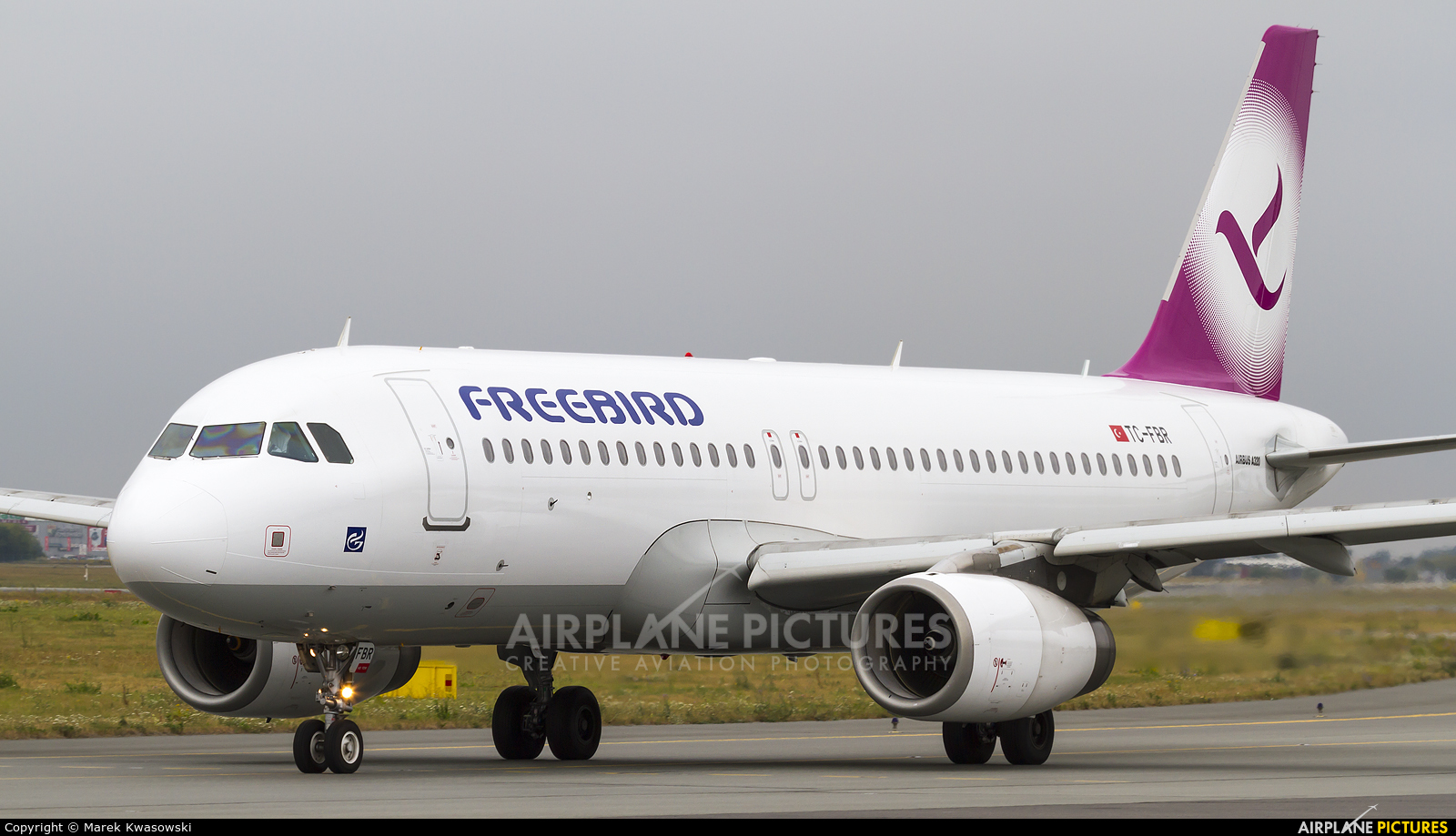 FreeBird Airlines TC-FBR aircraft at Warsaw - Frederic Chopin