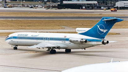 YK-AGA - Syrian Air Boeing 727-200