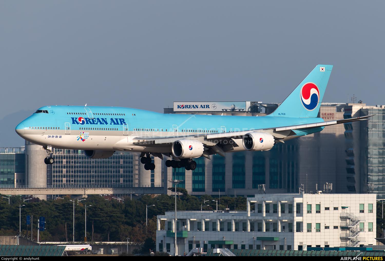 Korean Air HL7631 aircraft at Seoul - Incheon