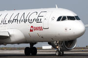 HB-IJM - Swiss Airbus A320 aircraft