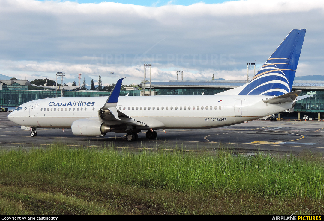 Copa Airlines HP-1713CMP aircraft at Guatemala - La Aurora