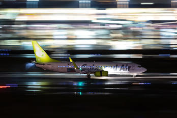 JA805X - Solaseed Air - Skynet Asia Airways Boeing 737-800