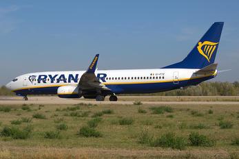 EI-FTZ - Ryan Air Boeing 737-8AS