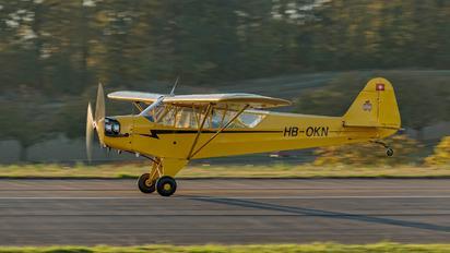 HB-OKN - Groupement de Vol à Moteur - Lausanne Piper L-4 Cub