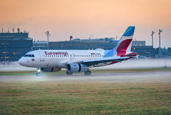 D-AGWI - Eurowings Airbus A319
