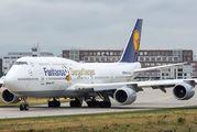 D-ABYI - Lufthansa Boeing 747-8 aircraft
