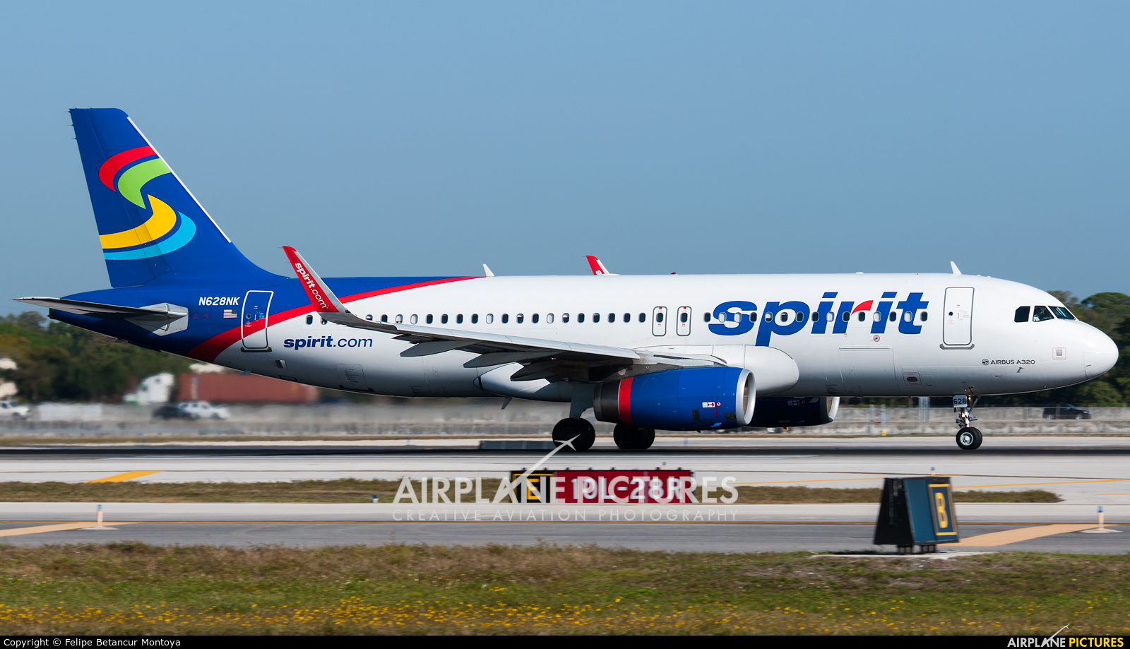 Spirit Airlines N628NK aircraft at Fort Lauderdale - Hollywood Intl
