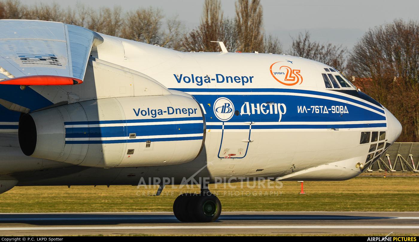 Volga Dnepr Airlines RA-76511 aircraft at Pardubice
