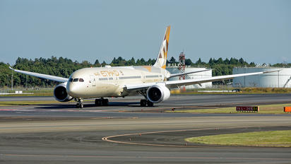 A6-BLU - Etihad Airways Boeing 787-9 Dreamliner