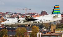 SE-LEB - BRA (Sweden) Fokker 50 aircraft