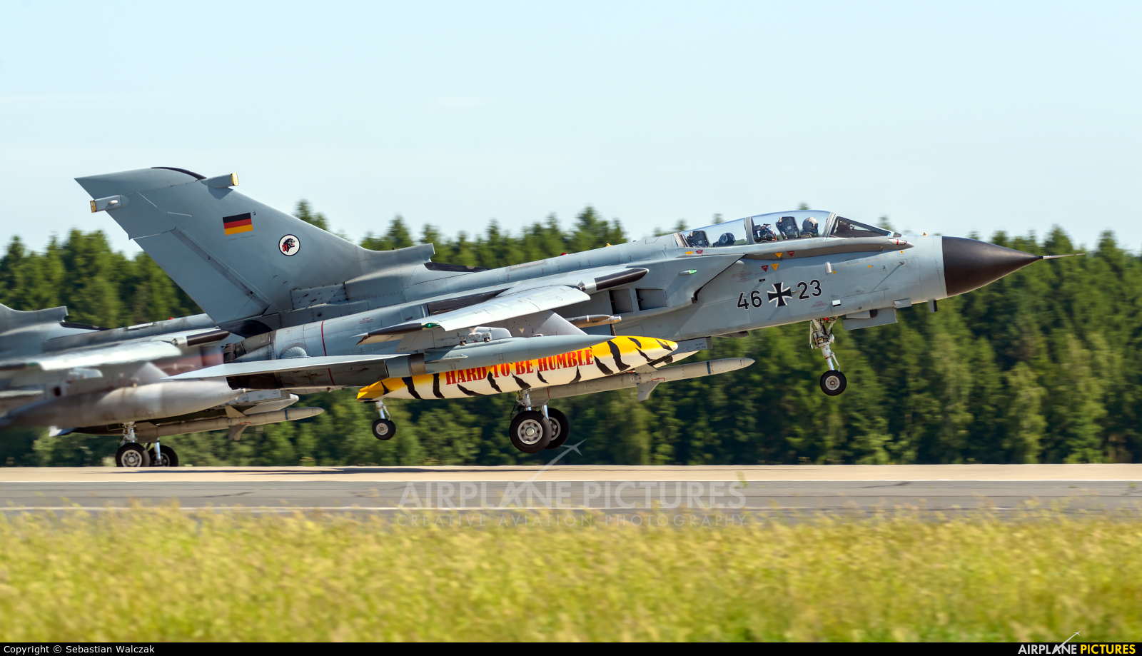 Germany - Air Force 46+23 aircraft at Poznań - Krzesiny