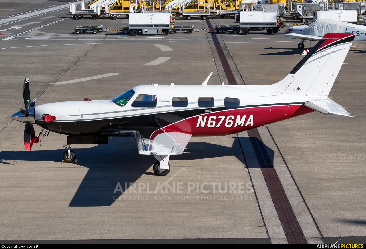 Private N676MA aircraft at Madeira