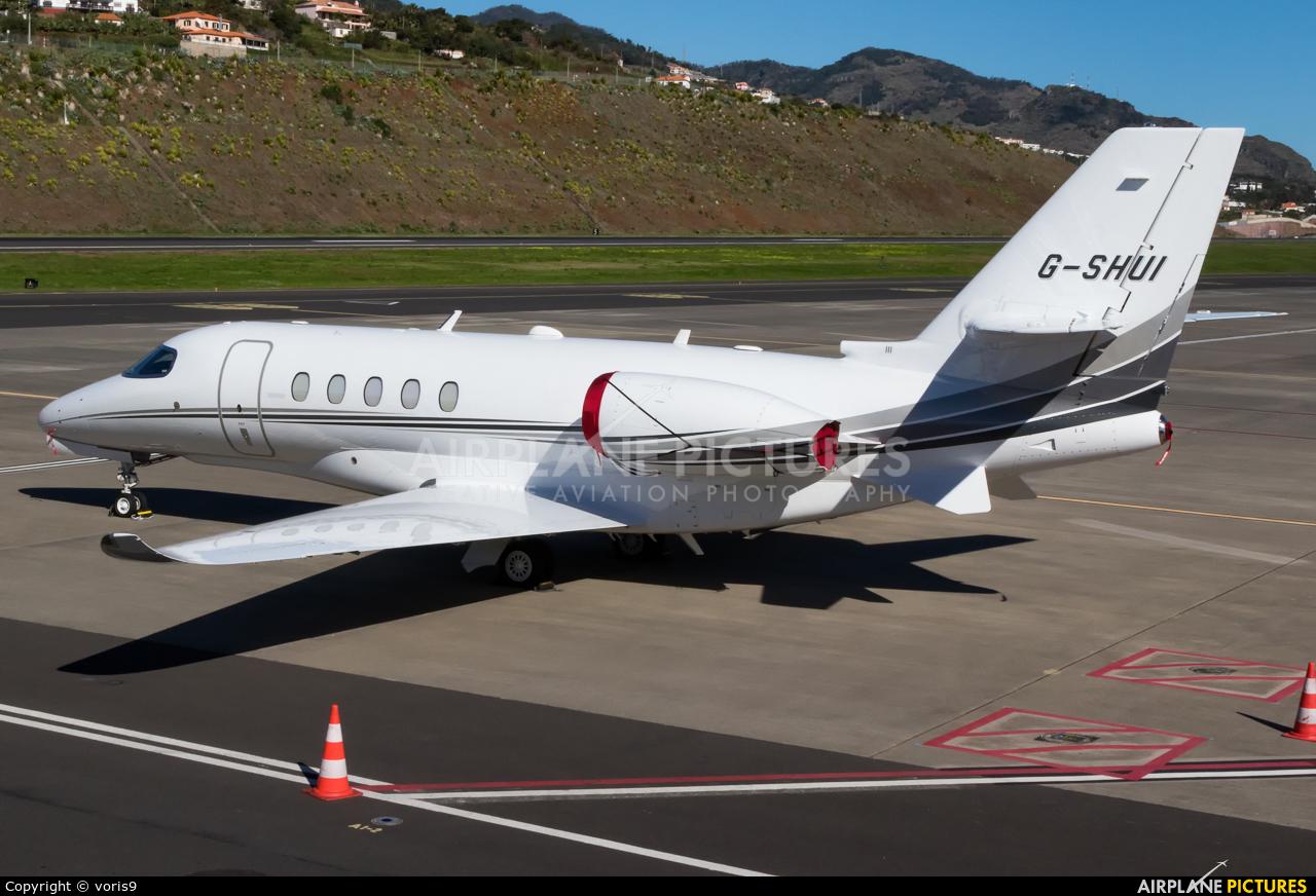 Air Charter Scotland G-SHUI aircraft at Madeira