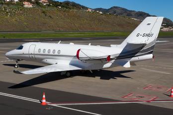 G-SHUI - Air Charter Scotland Cessna 680A Latitude