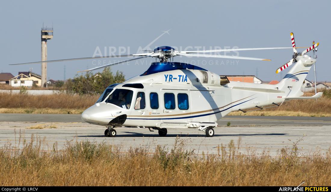 Private YR-TIA aircraft at Craiova