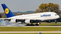 D-AIMD - Lufthansa Airbus A380 aircraft