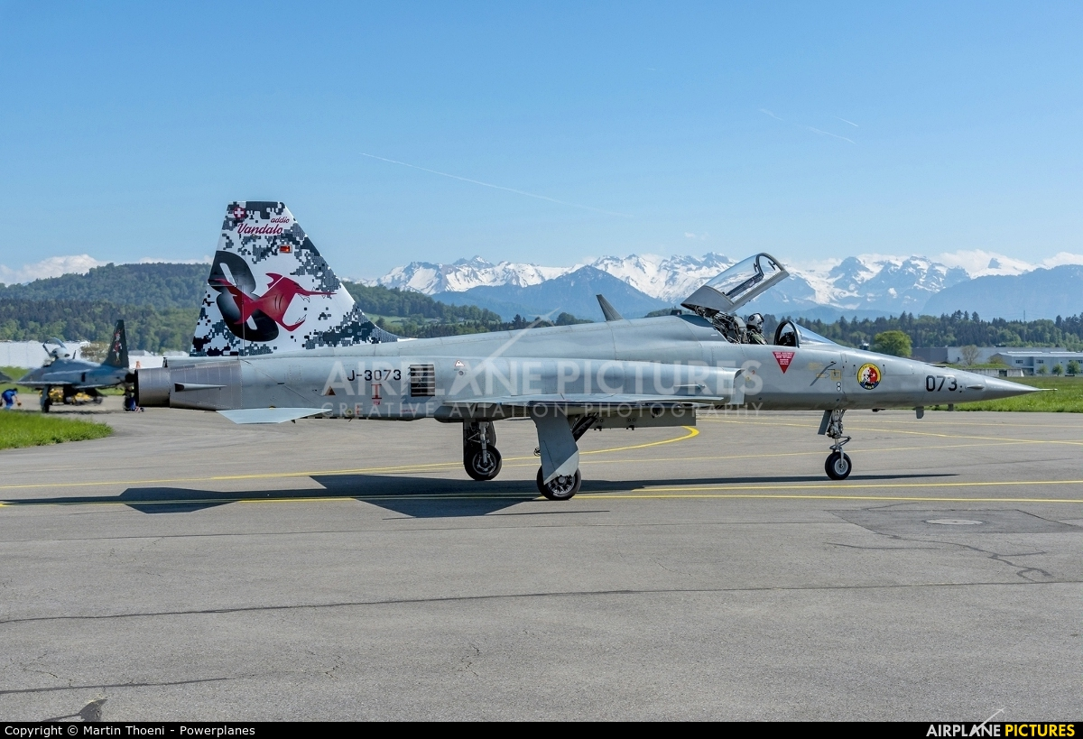 Switzerland - Air Force J-3073 aircraft at Emmen