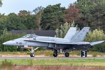 C15-26 - Spain - Air Force McDonnell Douglas F/A-18A Hornet