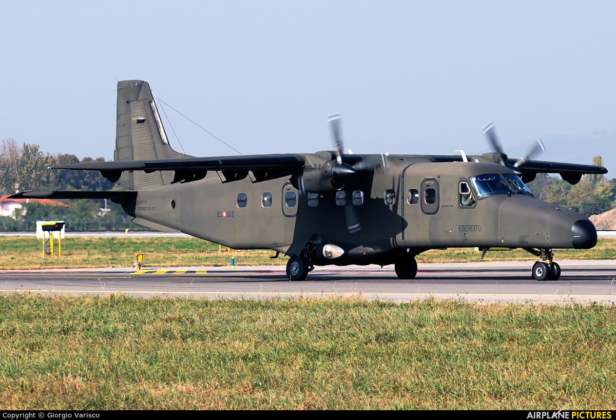 Italy - Army MM62158 aircraft at Bergamo - Orio al Serio